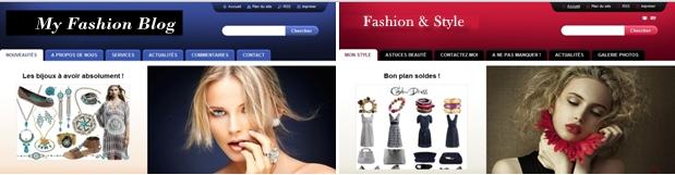 ファッションブログを作成