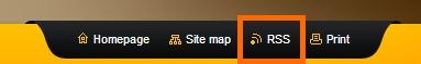 Erstellen Sie ein RSS Feed für Ihre eigene Homepage.