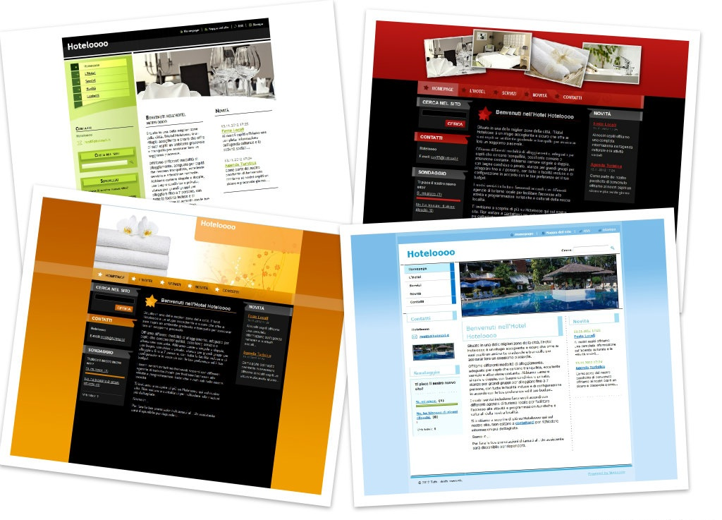Cr ation d un site gratuit pour les h tels et les beds for Site pour les hotels