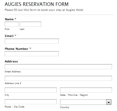 Comment bien faire la cr ation d un site internet pour un for Site web pour hotel