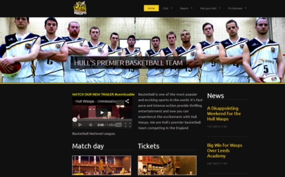 Hull Wasps website