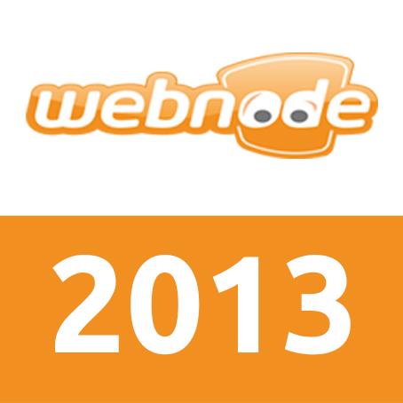 Webnode 2013年