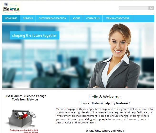 Homepage of Metwou