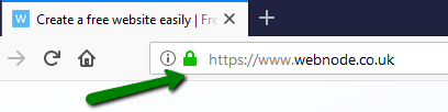Https secured page