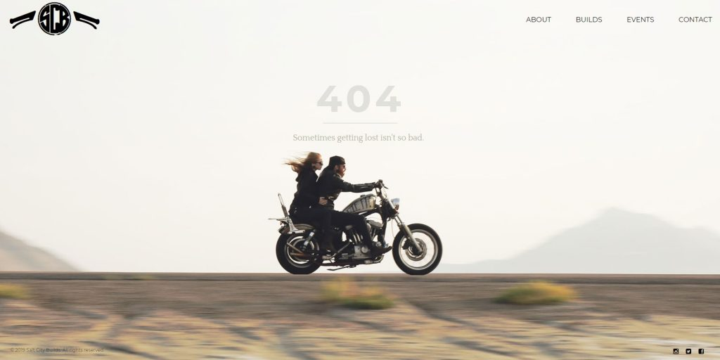 404 error page that is a great match with the seller's products