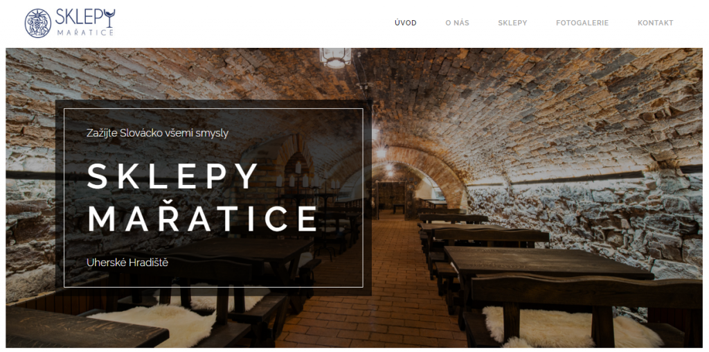 Website with great ambiance created on Webnode Marmalade Maker website template