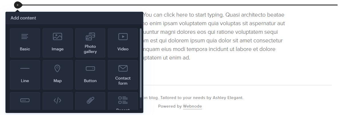 How to upload video in Webnode