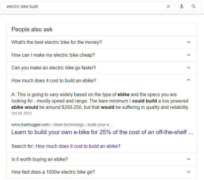 Frequently asked questions from Google.