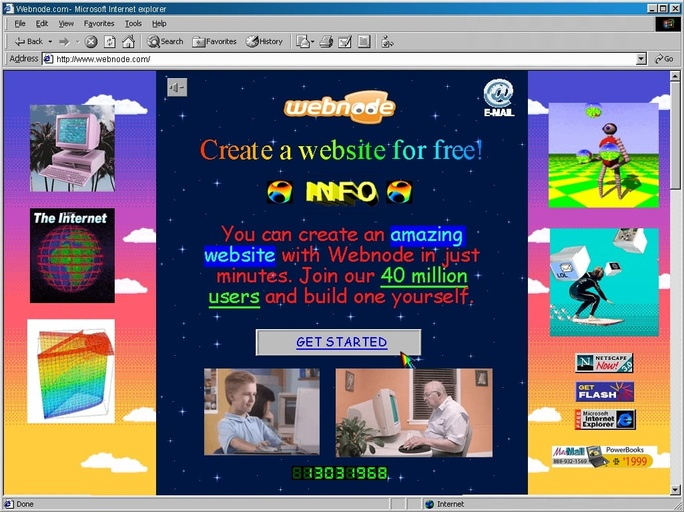 Early web design