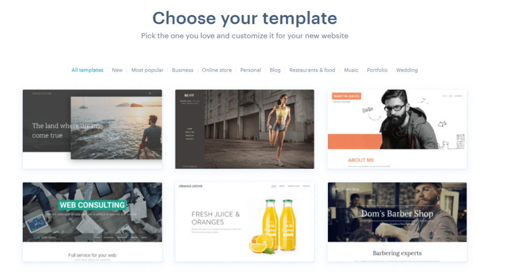 Webndode templates