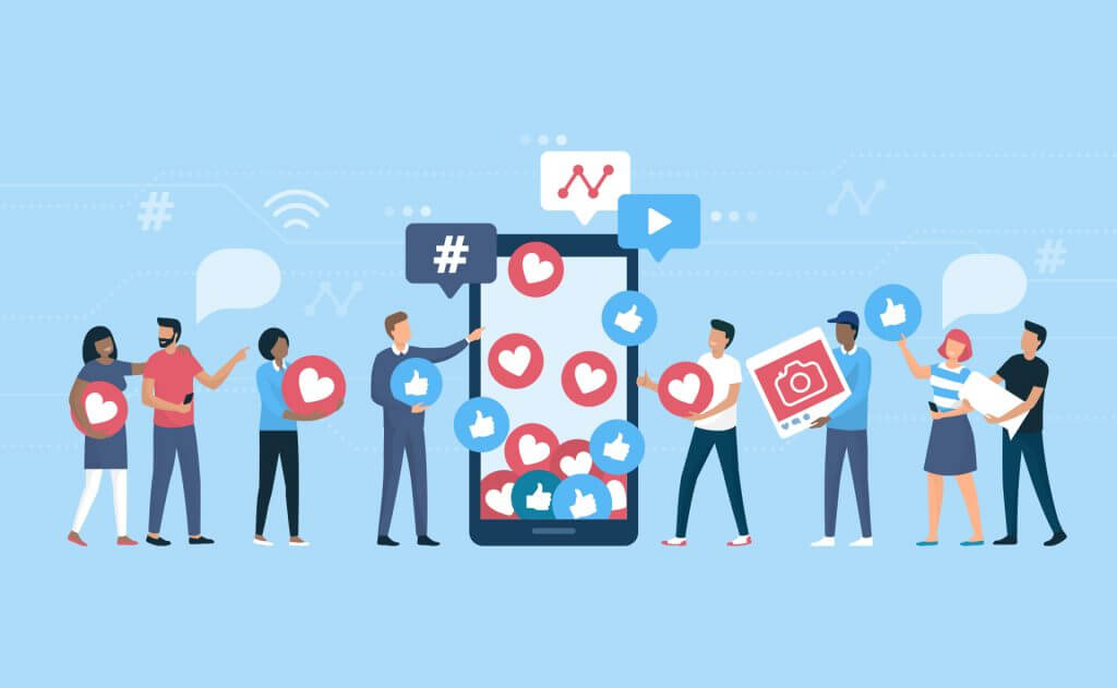 Social media can help you to make yourself popular as an artist.