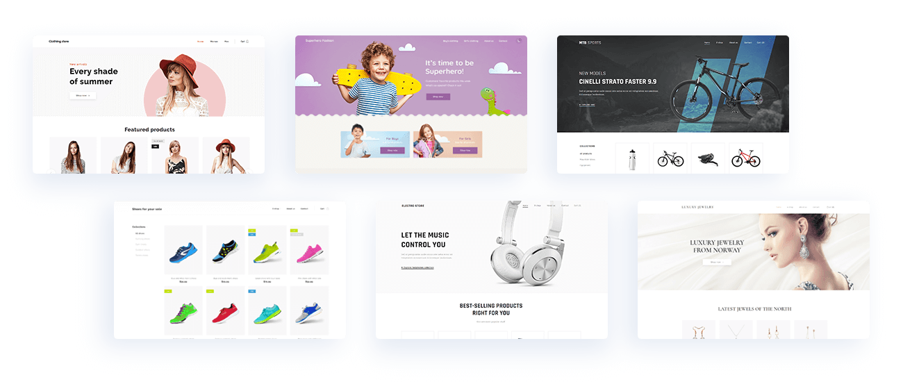 Online store - Webnode