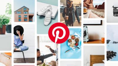Exibição de boards no Pinterest