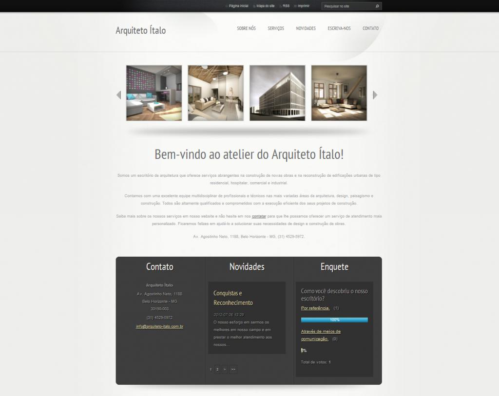 template webnode cinza