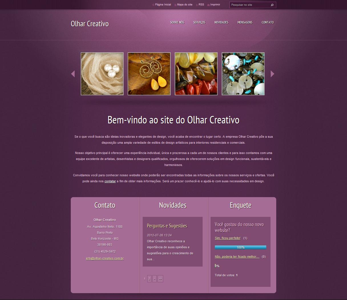 templates gratis para webnode