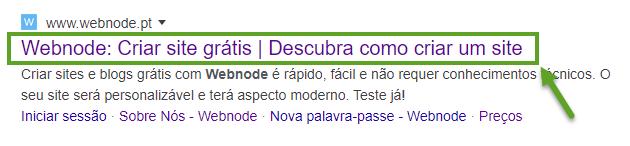 SEO - Como o manchete aparece no Google