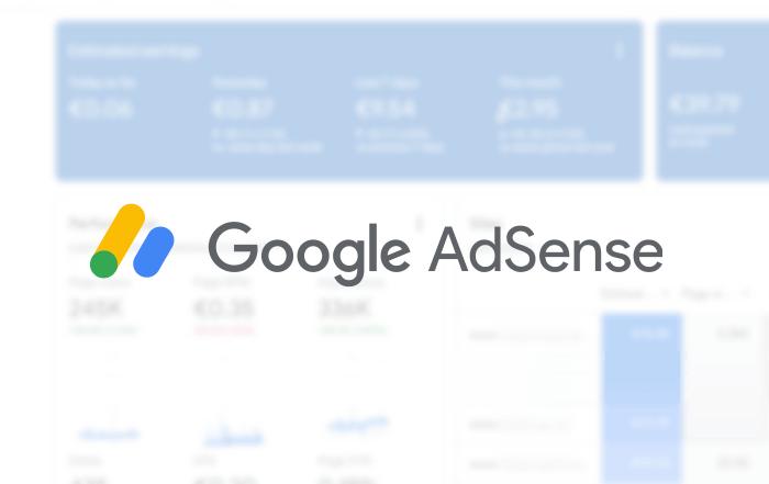 Ativar publicidade AdSense