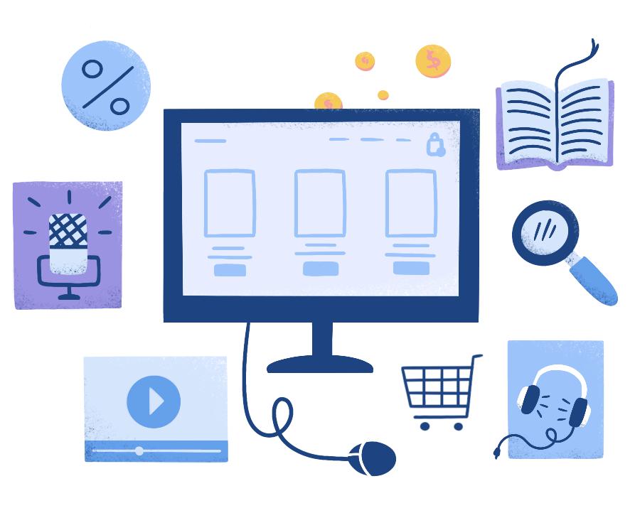 Vender produtos digitais online