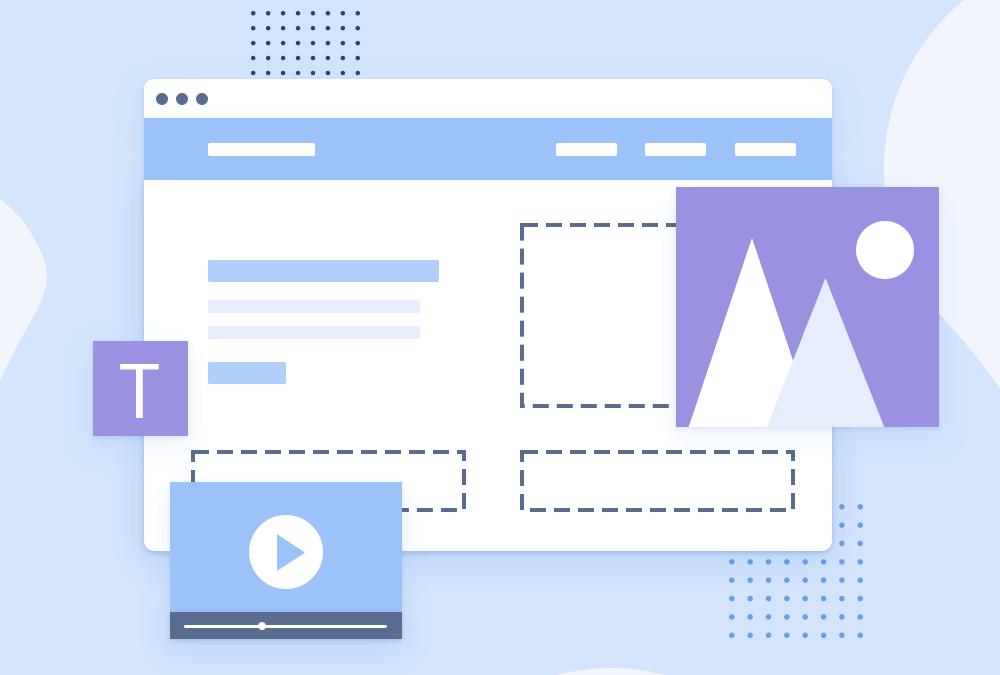 Estrutura de um site contemporâneo